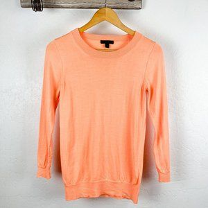 J. Crew Tippi Merino Wool Sweater Peach